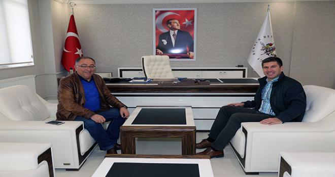 Başkan Salman'dan Başkan Ercengiz'e ziyaret