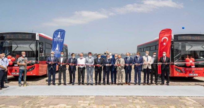 İzmir'de 16 yeni otobüs daha hizmete girdi