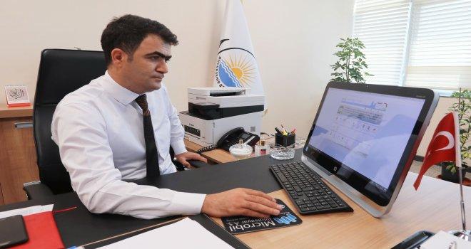 BÜYÜKŞEHİR BELEDİYESİ'NDE E-BORDRO DENEMİ BAŞLADI