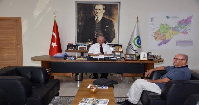 Başkan Kadir Albayrak Erdoğan Duygan'ı Ağırladı