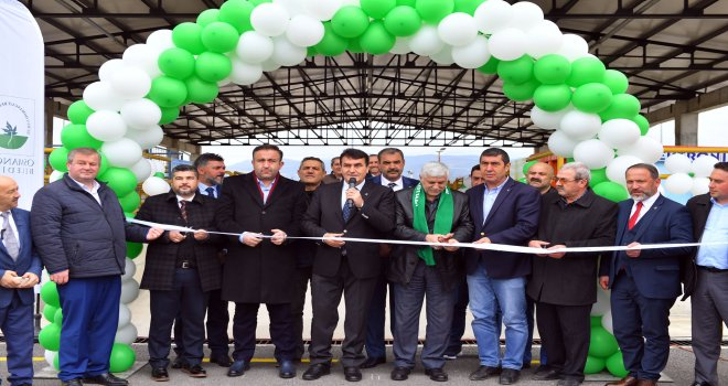 Bursa'nın İlk Katı Atık Getirme Merkezi Osmangazi'den