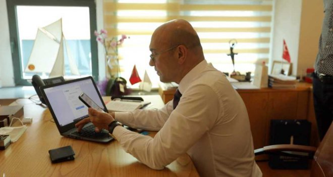 """Başkan Soyer'den İzmirlilere """"Askıda Fatura"""" çağrısı"""