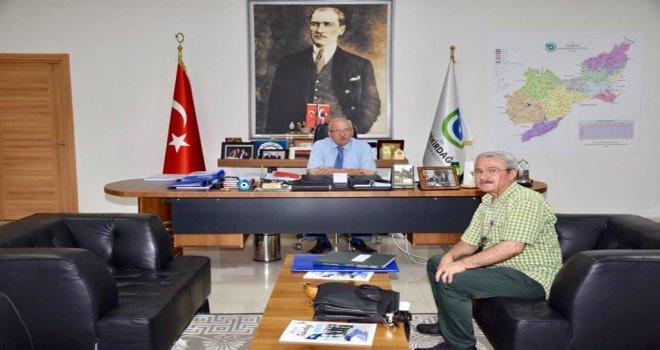 Gazeteci Mehmet Portakal'dan Başkan Kadir Albayrak'a Ziyaret