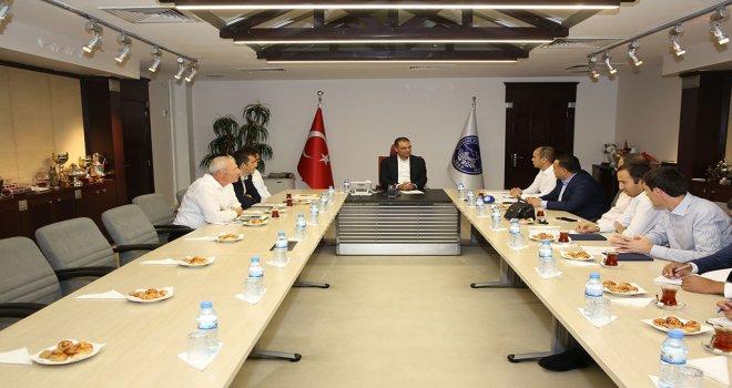 Özbek Heyet Kayseri'yi Seçti