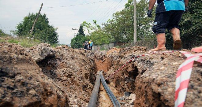 Ferizli'nin iki mahallesine alternatif su kaynakları