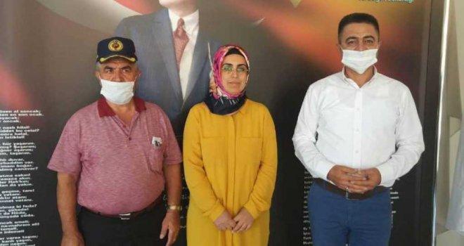 Büyükşehir'den Mut'taki Şehit Aileleri ve Gazilere Ziyaret