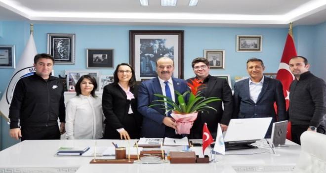 Başkan Türkyılmaz'a eğitime destek teşekkürü