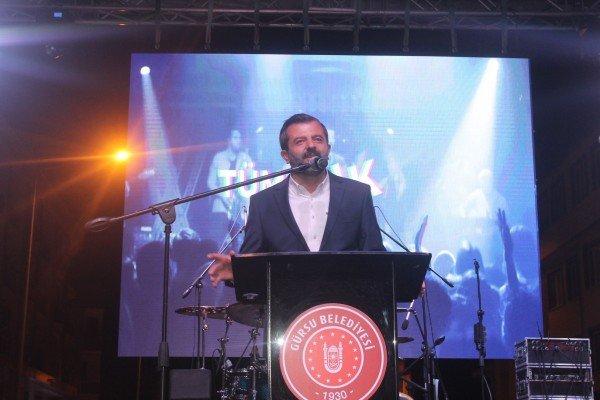 GÜRSU'DA FESTİVALİN KEYFİ YAŞANDI