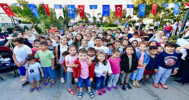 LİBADİYE PARKI'NDA 5 ÇAYI