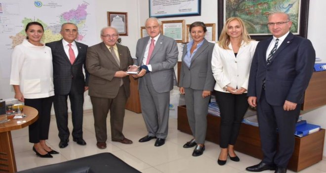 Türk Eğitim Vakfı'ndan Başkan Albayrak'a Ziyaret