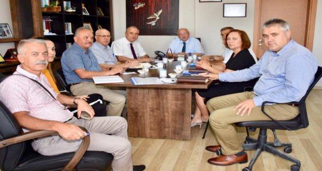 Başkan Albayrak TESKİ Değerlendirme Toplantısına Katıldı