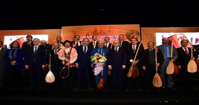 Türkiye'nin Halk Ozanları Adana'da Buluştu