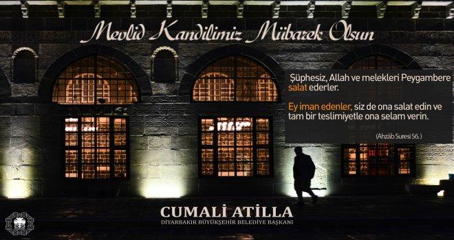 Başkan Atilla'dan Mevlid Kandili Mesajı