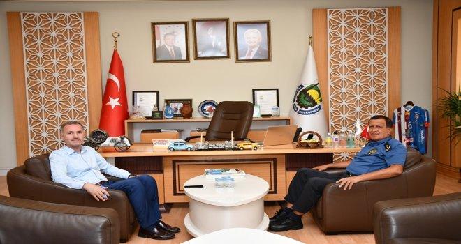 Emniyet Müdürü Erçetin'den Başkan Taban'a Ziyaret