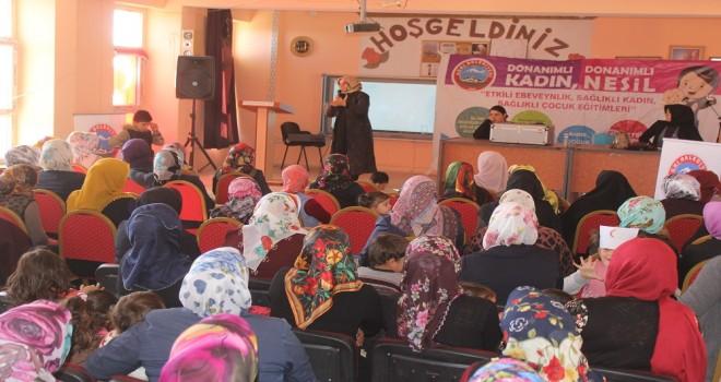Ağrı Belediyesi'nin Sağlıklı Aile eğitimleri başladı