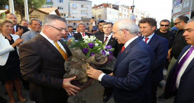 Kılıçdaroğlu'ndan Kesimoğlu'na Ziyaret