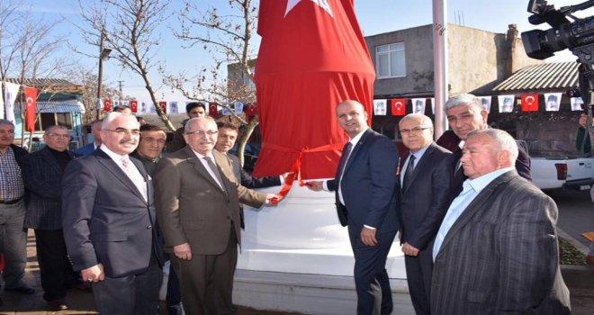 Soylu Mahallesinde Atatürk Anıtı Açılışı Gerçekleşti