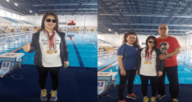Nilüferli sporcudan gururlandıran başarı
