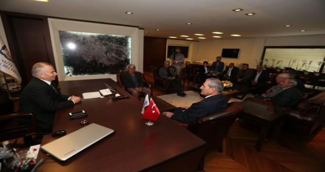 AK Parti Çardak İlçe Teşkilatı'ndan Başkan Zolan'a ziyaret