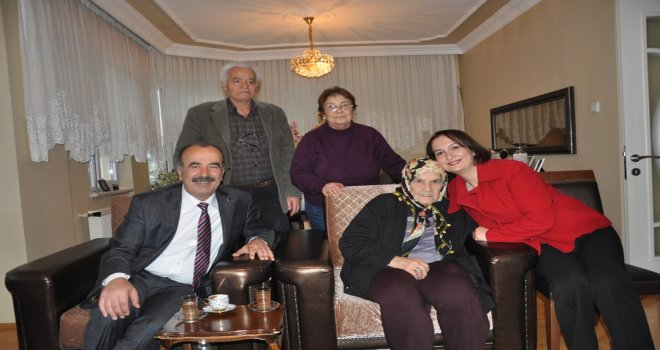 Türkyılmaz'dan yeni yıl ziyaretleri