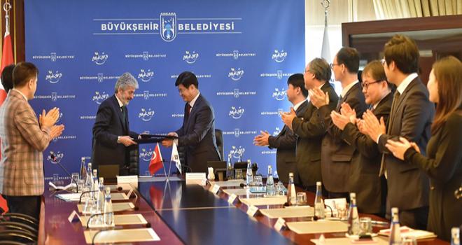 Ankara Büyükşehir'e yeni kardeş şehir :  Sejong
