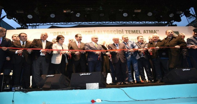 Osmaniye Masal Parkı törenle hizmete açıldı.