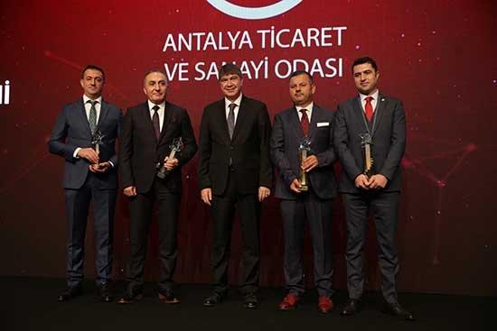 Türel'den başkanlara teşekkür