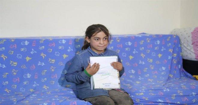 Minik Halime ve Ailesine Arnavutköy Belediyesi El Uzattı