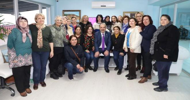 Başkan Türkyılmaz'dan emekçi kadınlara teşekkür