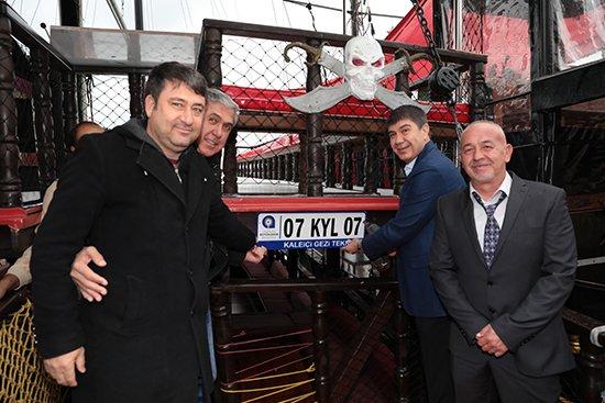 Antalya'da  Teknelere Plaka  Dönemi