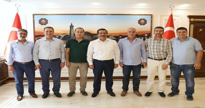 Kahramankazan'dan Başkan Atilla'ya ziyaret