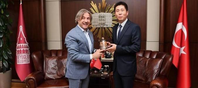 Çin Başkonsolosu Wei'den Başkan Demircan'a ziyaret