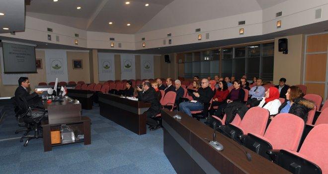 Belediye Personeline Omurga Sağlığı Semineri