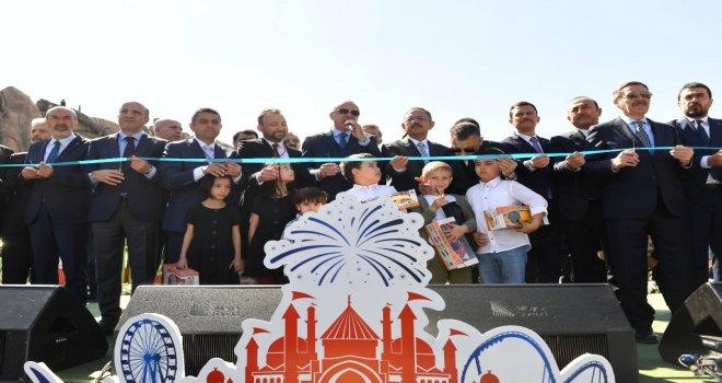 ANKARA'YI MARKA ŞEHİR YAPACAK TEMA PARK AÇILDI