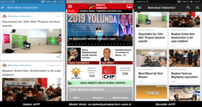 Belediye Haberleri  artık milyonlara ulaşıyor