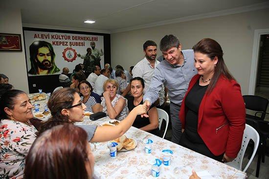 Başkan Türel Muharrem Ayı Oruç Açma yemeğine katıldı