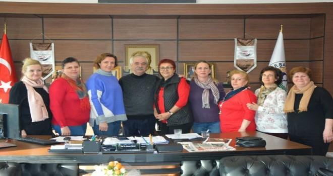 Keşan Kadın Kolları Yönetimi'nden Özcan'a Ziyaret