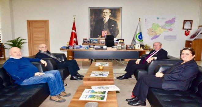 ÇEKÜL Yöneticilerinden Başkan Kadir Albayrak'a Ziyaret