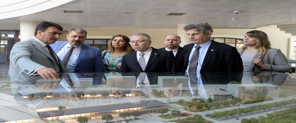 Sanayici ve İş Adamları Dernekleri'nden Başkan Dündar'a Ziyaret