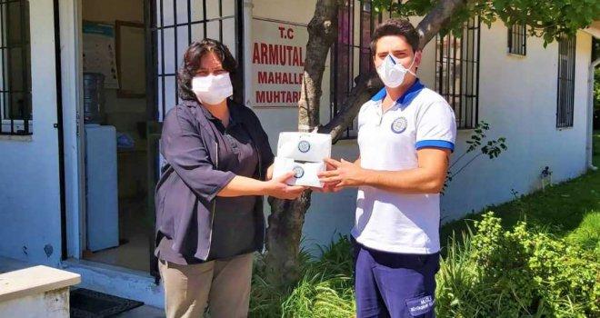 Büyükşehir'den Muhtarlara 56 Bin 900 Adet Maske