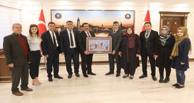 Anadolu Şehit ve Gazi Aileleri Federasyonu'ndan Başkan Atilla'ya ziyaret