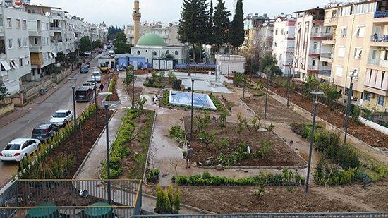 Antalya 'da Çevreci otopark açılış için gün sayıyor