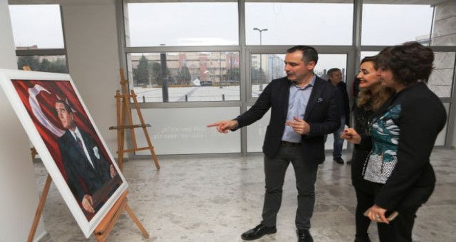 Atatürk, Kadın ve Barış Sergisi Nilüfer'de