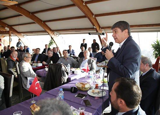 Başkan Türel Karadenizli iş adamlarına Antalya'nın yatırımlarını anlattı