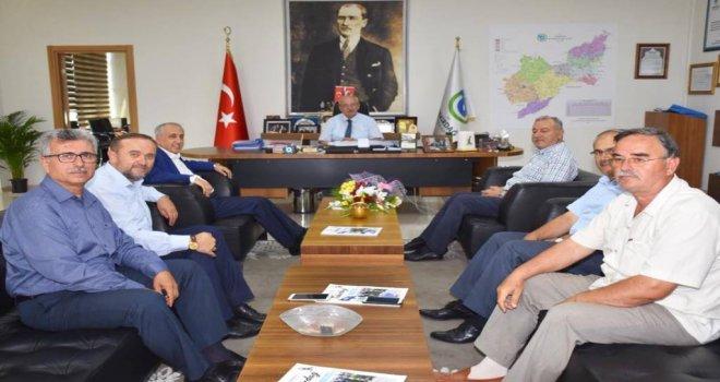 İlim Yayma Cemiyeti'nden Başkan Kadir Albayrak'a Ziyaret