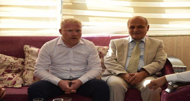 Başkan Vekili Kahya MHP'nin Bayramlaşmasına Katıldı
