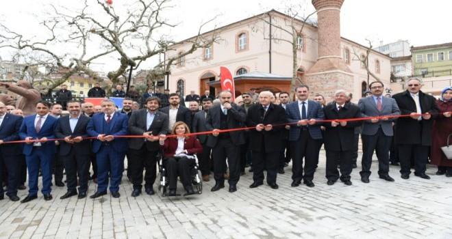 Umurbey'de tarih Büyükşehir ile canlandı