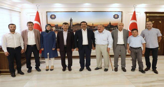 Şanlıurfa'dan Başkan Atilla'ya ziyaret