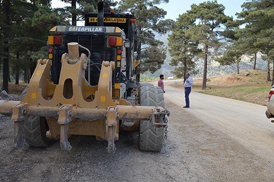 Manavgat Yaylaalan asfalta kavuşuyor