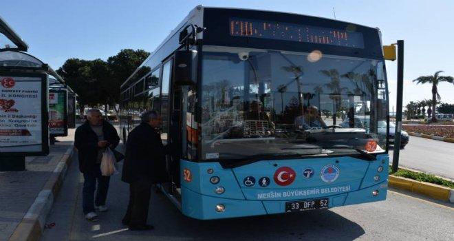 Mersin?de Toplu Taşımaya Olan İlgi Yıldan Yıla Artıyor